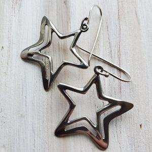 Silpada Star Earrings